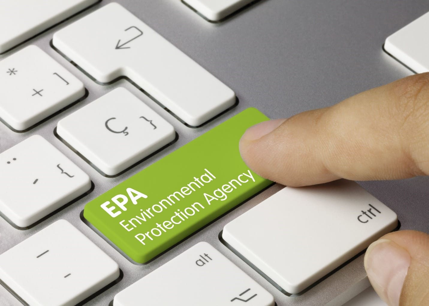 keyboard green shift button named as EPA(Environmental Protection Agency)